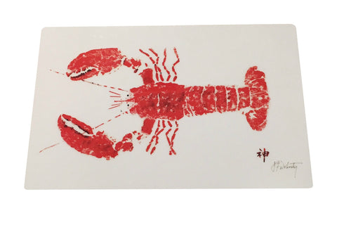 Red Lobster Placemat by Fishaye Trading Company