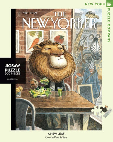 New York Puzzle Company - A New Leaf Puzzle