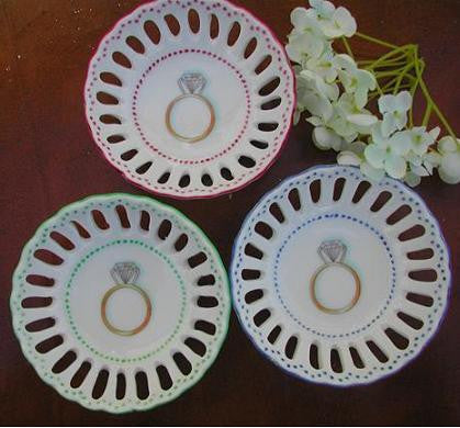 Ann Marie Murray Ring Dishes available at Blackstone's of Beacon Hill