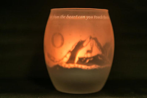 Shado Candle - Mountains / Rumi