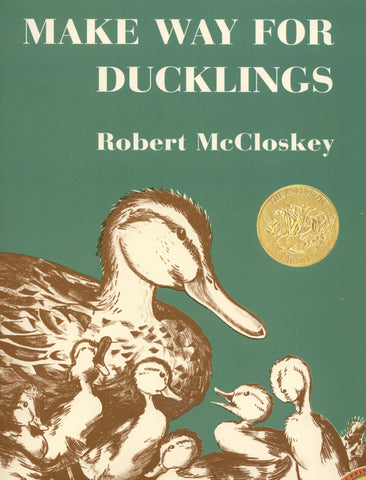 Make Way For Ducklings by Robert McCloskey (Hardcover Book)