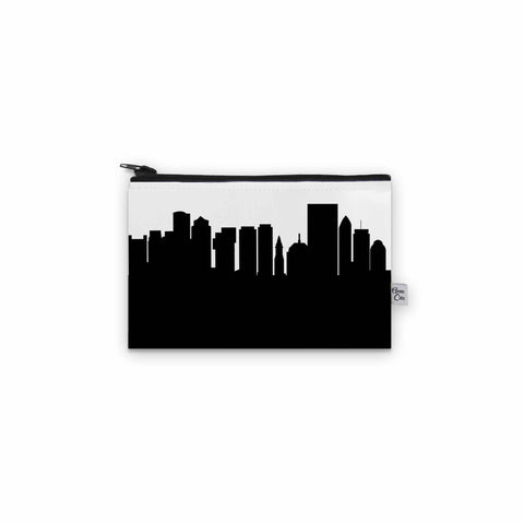 Boston MA Skyline Mini Purse - Vegan Leather
