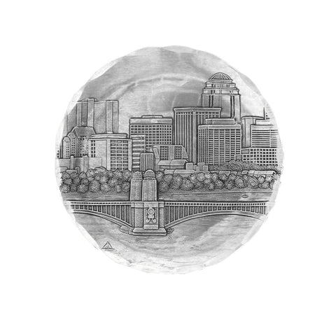 Boston Skyline Coaster by Wendell August