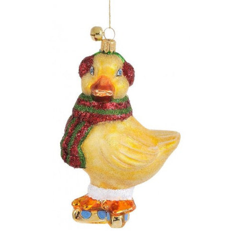 Zack Duckling Ornament by JingleNog ~ Blackstone's Exclusive