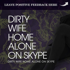 Dirty Wife Home Alone- Purple & Purple Cam Girl Layout