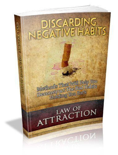 Discarding Negative Habits Ebook