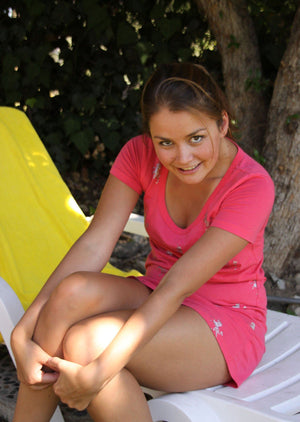 Allie Haze Set of Pictures (College Girl)