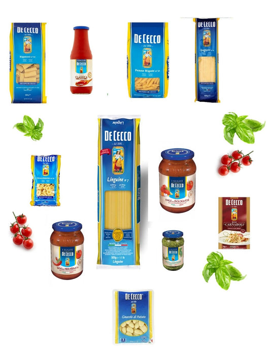 BOX 4 - Italian Essentials Pasta Bundles