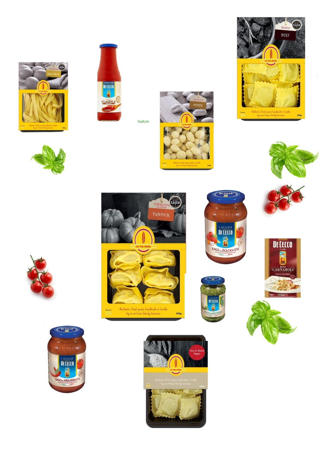 BOX 5 - Italian Essentials - Fresh Pasta Bundle
