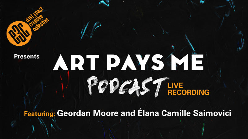 The East Coast Creative Collective is proud to present ART PAYS ME LIVE PODCAST
