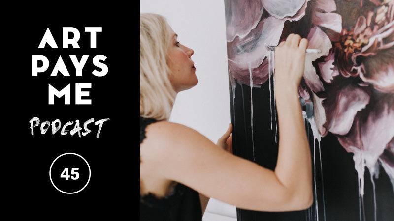 Melissa Townsend on Art Pays Me Podcast