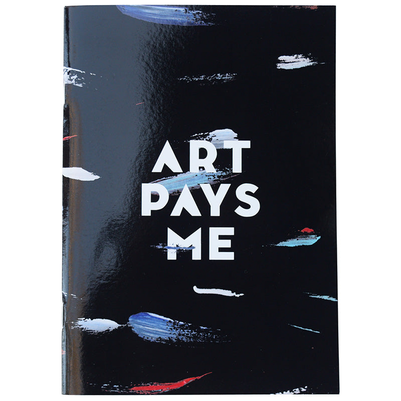 Art Pays Me Sketch Book