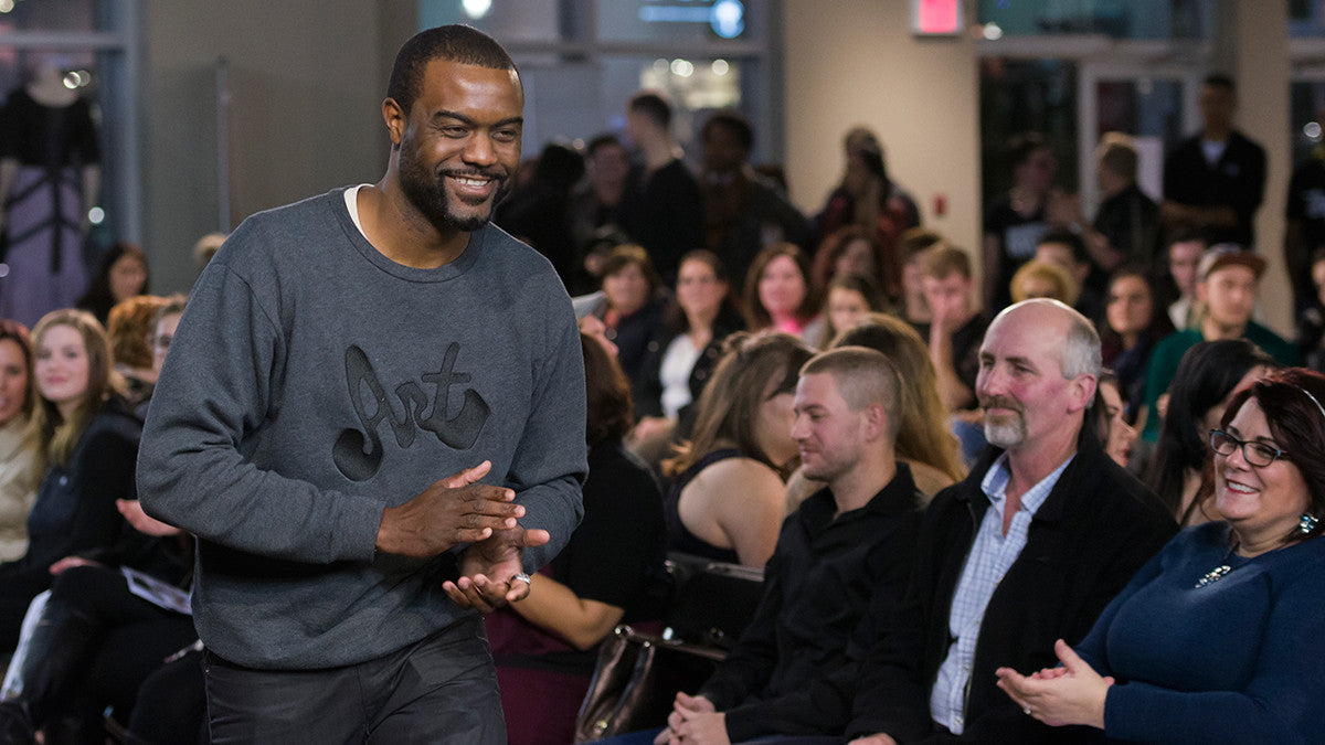 Duane Jones finale walk at Atlantic Fashion Week 10