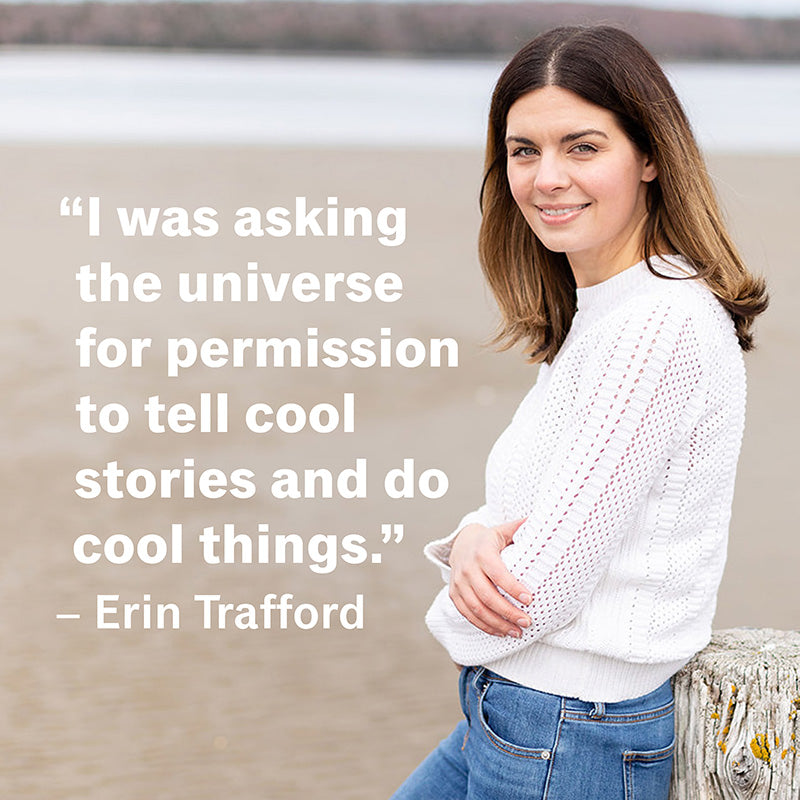 I was asking the universe for permission to tell cool stories and do cool things.