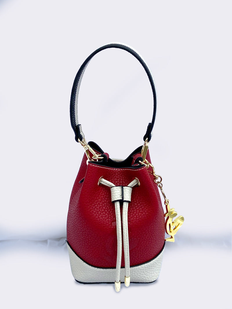 Ita Bucket Bag Creamy Crimson