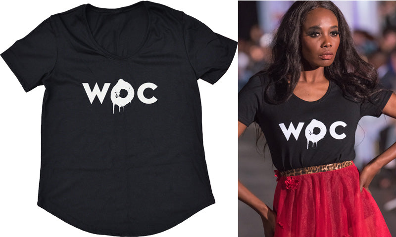 Women Of Colour Tee Black