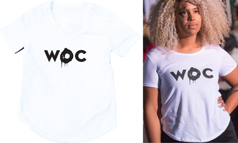 Women of Colour Tee White