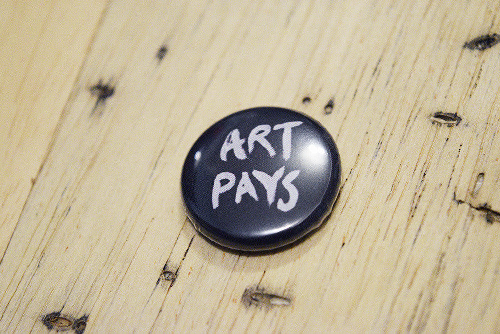 Art Pays Button