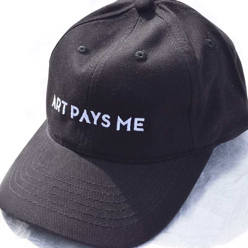 Art Pays Me Hat