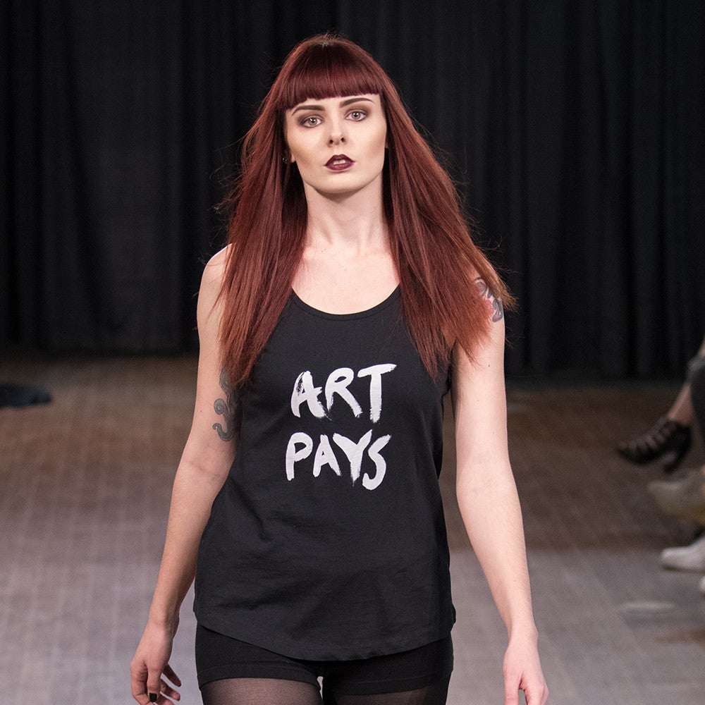 Art Pays Tank Top