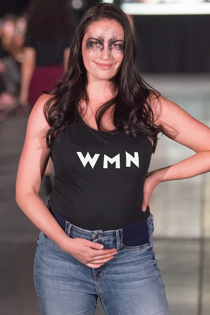 Woman Ladies Tank, Black worn by Siera Bearchell