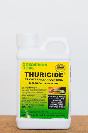 Thuricide BT Caterpillar & Worm Control Organic (8 oz)