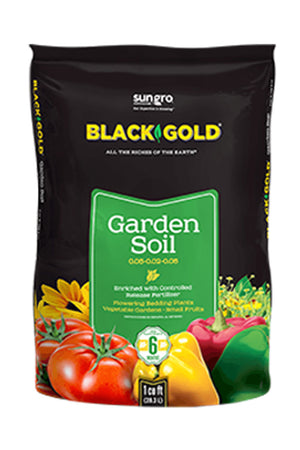Black Gold Garden Soil 0.05-0.02-0.05, Size: 1 CF