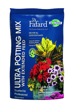 Fafard Ultra Potting Mix with Extended Feed, 2 CF Size: 2 CF