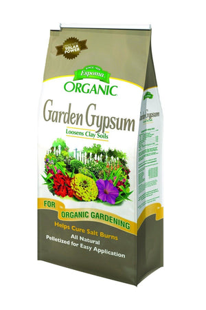 Garden Gypsum Loosens Clay Soil Minimizes Salt Damage Promotes Root Growth Easy Application, 6 LB