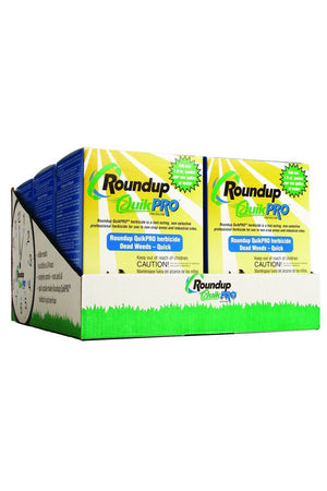 Roundup QuikPRO Quick Action Herbicide, 5-1.5oz packets