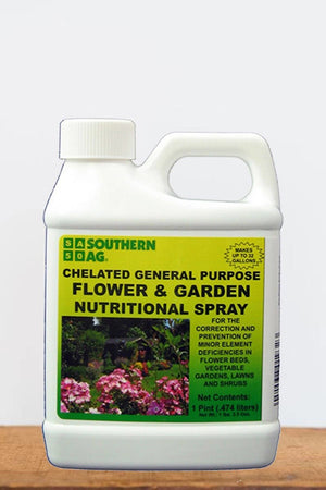 Southern Ag Chelated General Purpose Flower & Garden Nutritional Spray, 1 Gallon Size: 1 Gallon