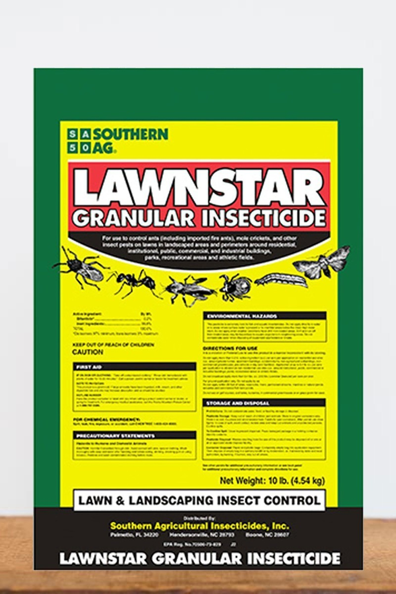 Southern Ag Lawnstar Bifenthrin Granular Insecticide, 10 LB Size: 10 LB