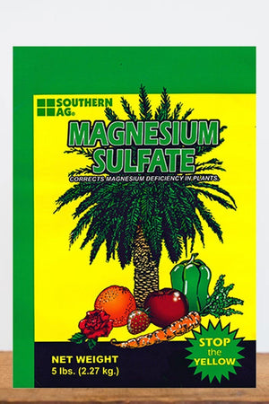 Southern Ag Magnesium Sulfate Water Soluble, 5 LB Size: 5 LB