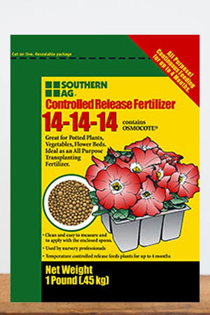 Southern Ag Osmocote Controlled Release Fertilizer 14-14-14, 1 LB