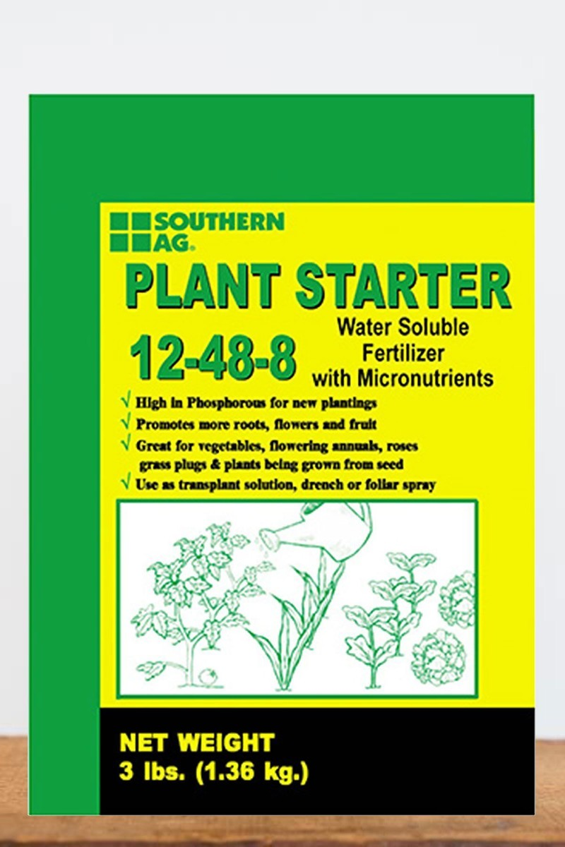 Southern Ag Plant Starter Soluble Fertilizer 12-48-8, 3 LB for $ 27.95 at Root 98 Warehouse