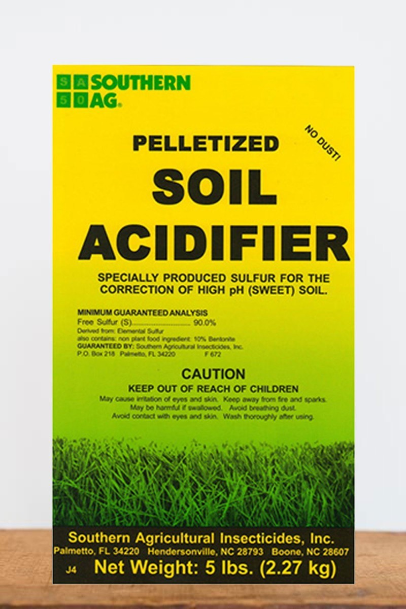 Southern Ag Soil Acidifier Pellets, 5 LB