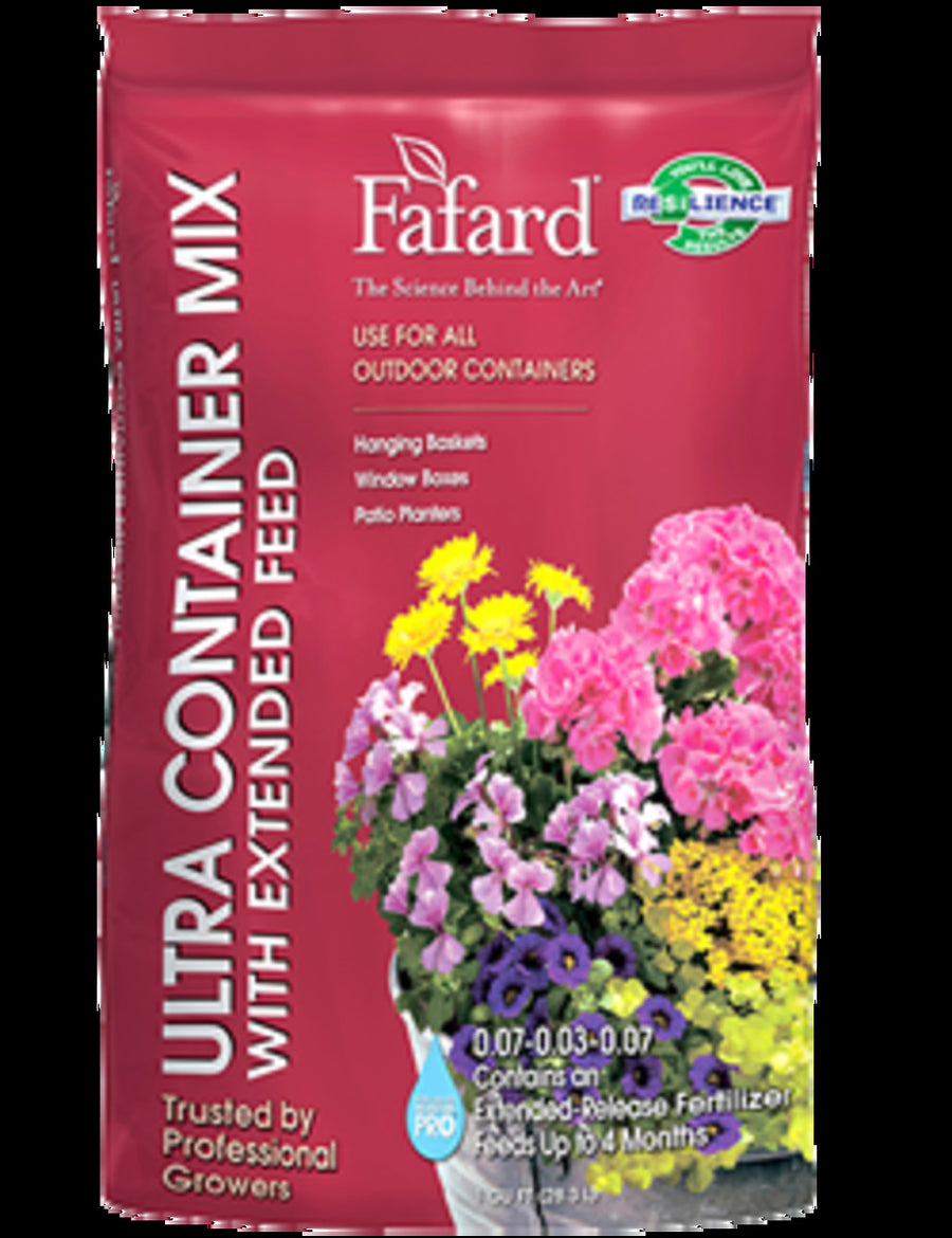 Fafard Ultra Container Mix with Extended Feed, 1 CF