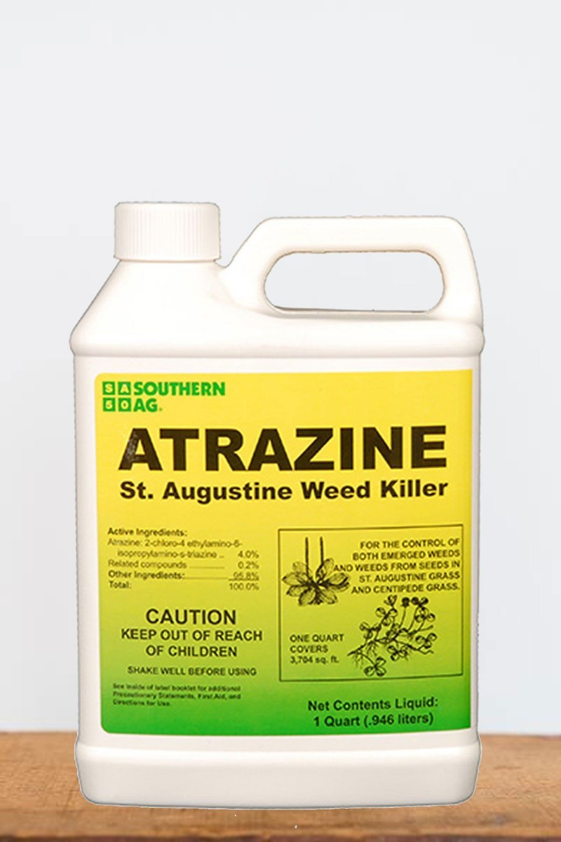 Southern Ag Atrazine St. Augustine Grass Weed Killer, 1 Quart