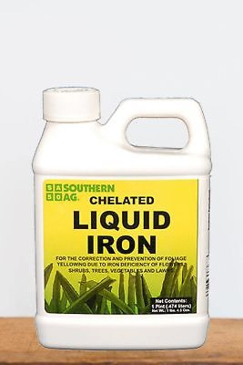 Southern Ag Chelated Liquid Iron, 1 Gallon Size: 1 Gallon