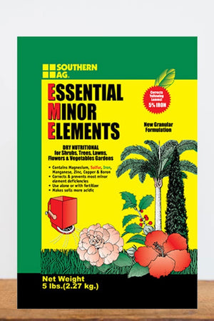Southern Ag Essential Minor Element Granular Formulation, 5 LB Size: 5 LB