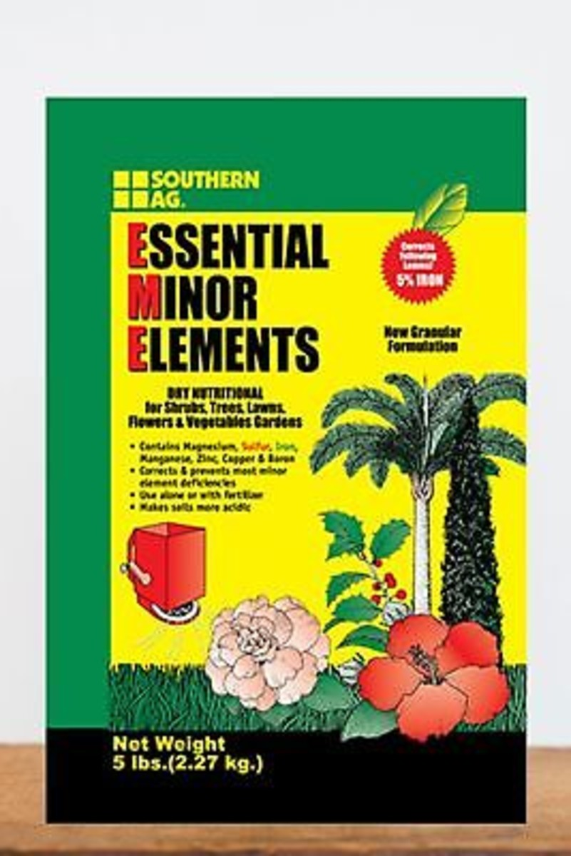 Southern Ag Essential Minor Element Granular Formulation, 25 LB Size: 25 LB