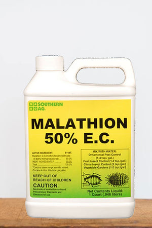Southern Ag Malathion 50% E.C. Insecticide, 16 OZ