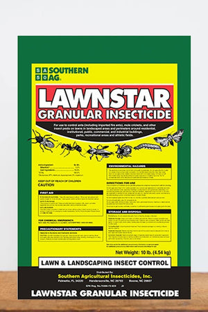Southern Ag Lawnstar Bifenthrin Granular Insecticide, 20 LB Size: 20 LB