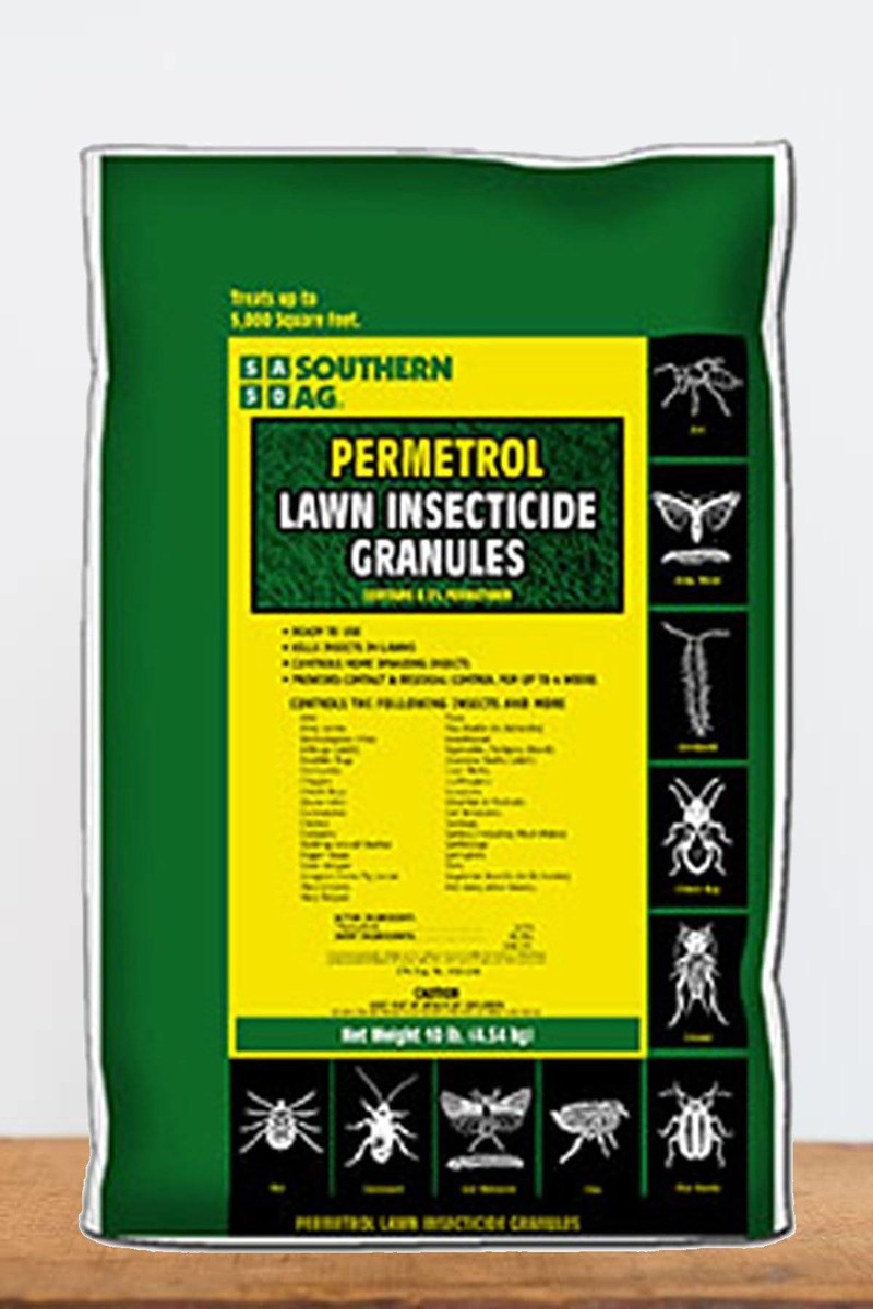 Southern Ag Permetrol 0.5% Lawn Insecticide Granules, 4 LB