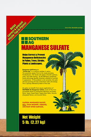 Southern Ag Manganese Sulfate Dry Fertilizer, 25 LB