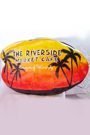 Hand-Painted Personalized Coconut, Gift (Excludes Ca)
