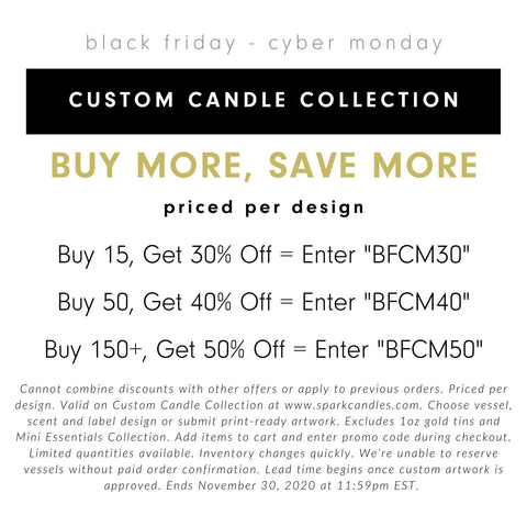 Create a Custom Candle Collection - Buy More, Save More