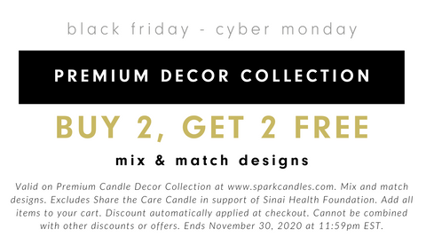 Premium Decor Soy Candles - Buy 2, Get 2 Free