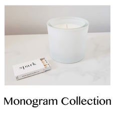 Monogram Collection - Custom Candle
