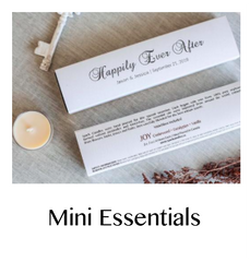 Mini Essentials Collection - Custom Candles